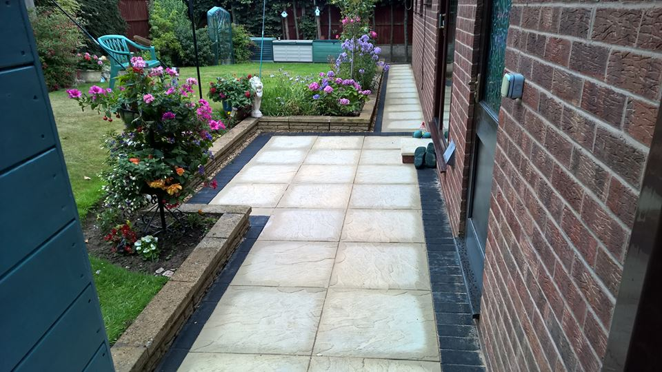 recent paving work carried out