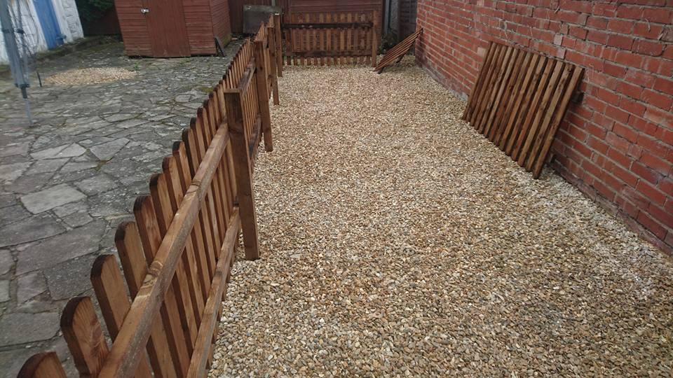 resin driveways in Grantham