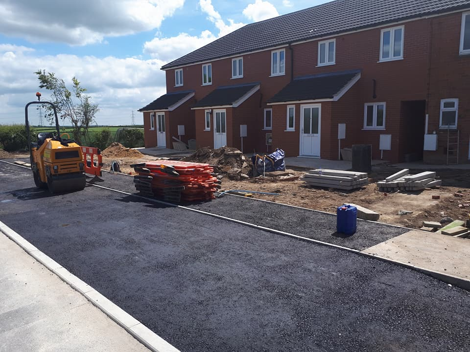 recent work carried out for tarmac driveways in Boston